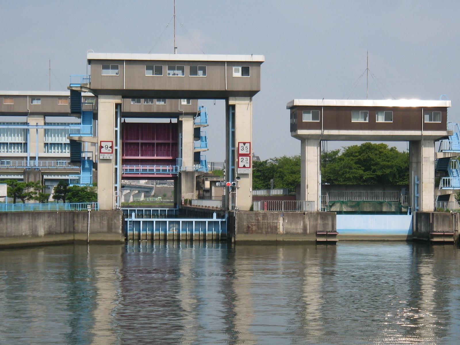 毛馬の水門